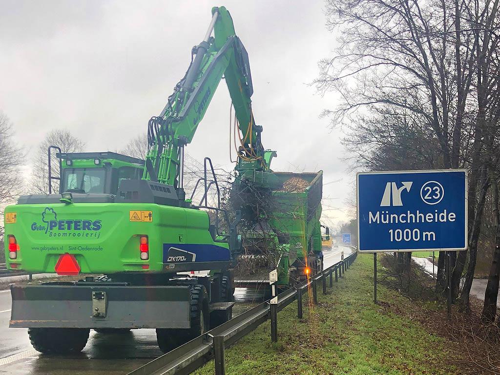 Bomen snoeien Duitsland Gebroeders Peters